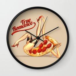 Hot Pizza! Wall Clock