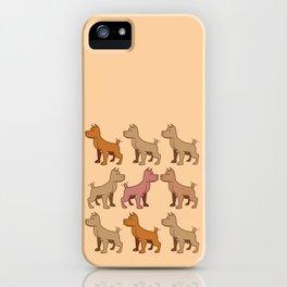 Nine dogs  iPhone Case