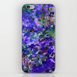 Deep Violet Woods iPhone Skin