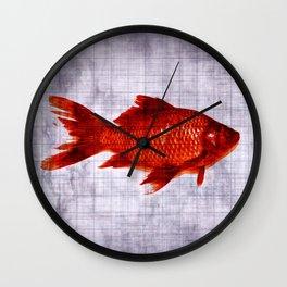 Salty Fish Wall Clock