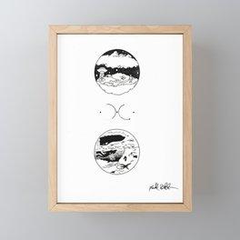 Familiar Abduction Framed Mini Art Print