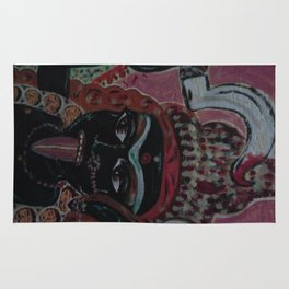 Kali  The Dark Mother Rug