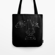 CONSTELLATION OF MAN Tote Bag