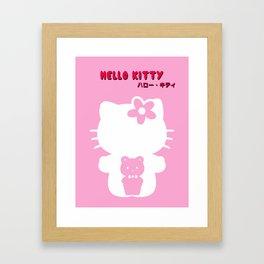 HelloKitty ハロー・キティ Framed Art Print