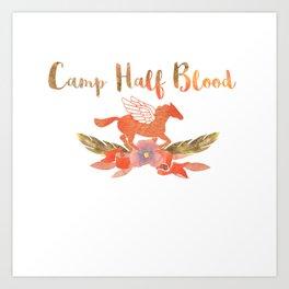 camp half blood v1 Art Print