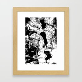 Cascata II Framed Art Print