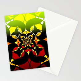 Butterfly Window Stationery Cards