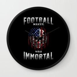 American Football Team Sports Game USA Player Gift Wall Clock