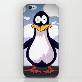 Patrick the Penguin iPhone Skin