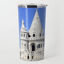 Budapest Fisherman Bastion tower Travel Mug