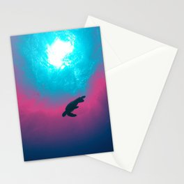 Space Wave Stationery Cards