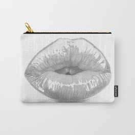 Affetto / Affection - Kiss Lips - Mouth Carry-All Pouch