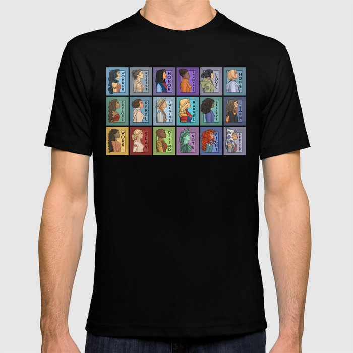 She Series Collage - Version 2 T-shirt