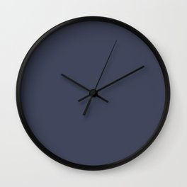 Deep grey Wall Clock