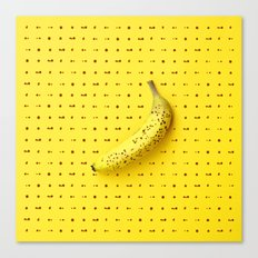 Bananagram Canvas Print
