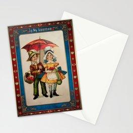 Valentine's Day Vintage Card 123 Stationery Cards