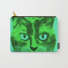 green head cat Carry-All Pouch