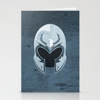 magneto Stationery Cards featuring Magneto by Tony Vazquez