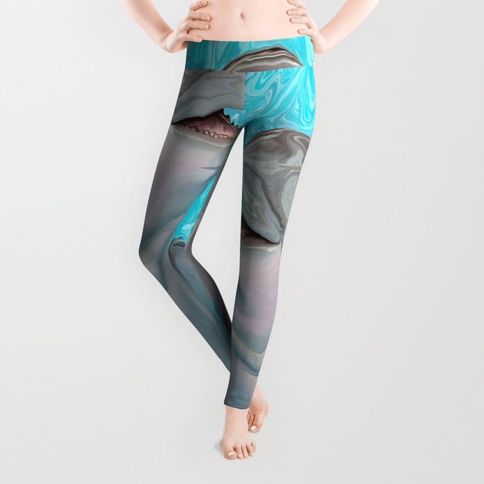Dolphin Chatter Leggings
