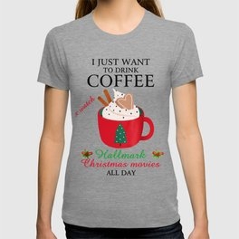 I Want To Drink Coffee T-shirt