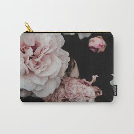 Crisp Pink flowers Carry-All Pouch