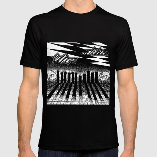 descending of night at the factory T-shirt