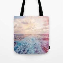 Sea Tracks Tote Bag