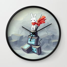 King Of The Hill Wall Clock