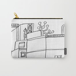 Street Of Malaga - Drawing Carry-All Pouch