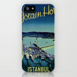 Golden Horn Istanbul iPhone Case