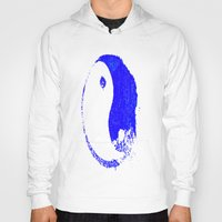 ying yang Hoodies featuring Ying Yang by Dead City