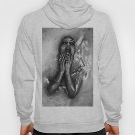Gina Harisson - The Drowning Woman With Background Hoody