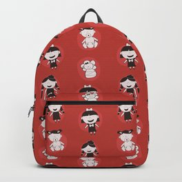 Girls Growing Up (Patterns Please) Backpack