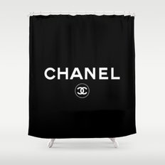 Double C Shower Curtain