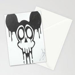 gothic mickey Stationery Cards