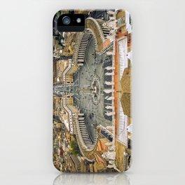Piazza San Pietro, Vatican iPhone Case