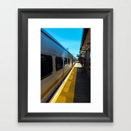 Long Island Railroad Framed Art Print
