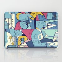 zissou iPad Cases featuring The Life Acquatic with Steve Zissou by Ale Giorgini