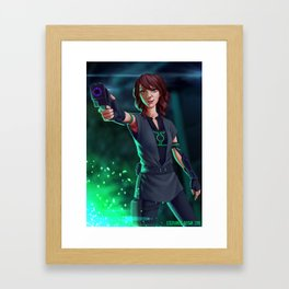 Spark of Honor - Midori Framed Art Print