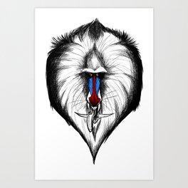 Dragon Monkey Art Print