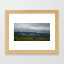 Harvest Weather Framed Art Print