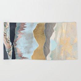 Winter Light Beach Towel