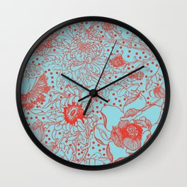 ChineseFlower Wall Clock