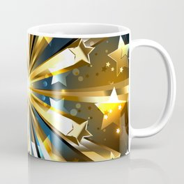 Ball of Gold Stars Coffee Mug