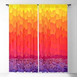Fire Sun Splash Blackout Curtain