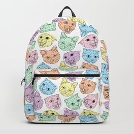 Four cats Backpack