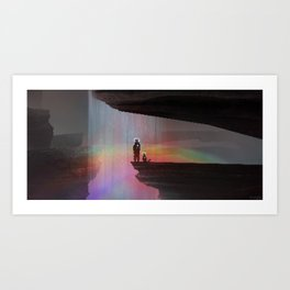 PHAZED PixelArt 9 Art Print