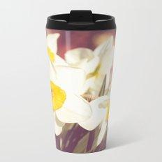 Daffodil flower Metal Travel Mug