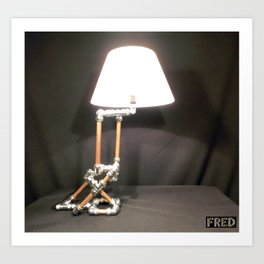 Articulated Desk Lamps - Copper and Chrome Collection - FredPereiraStudios_Page_04 Art Print