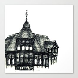Chester Rows Canvas Print